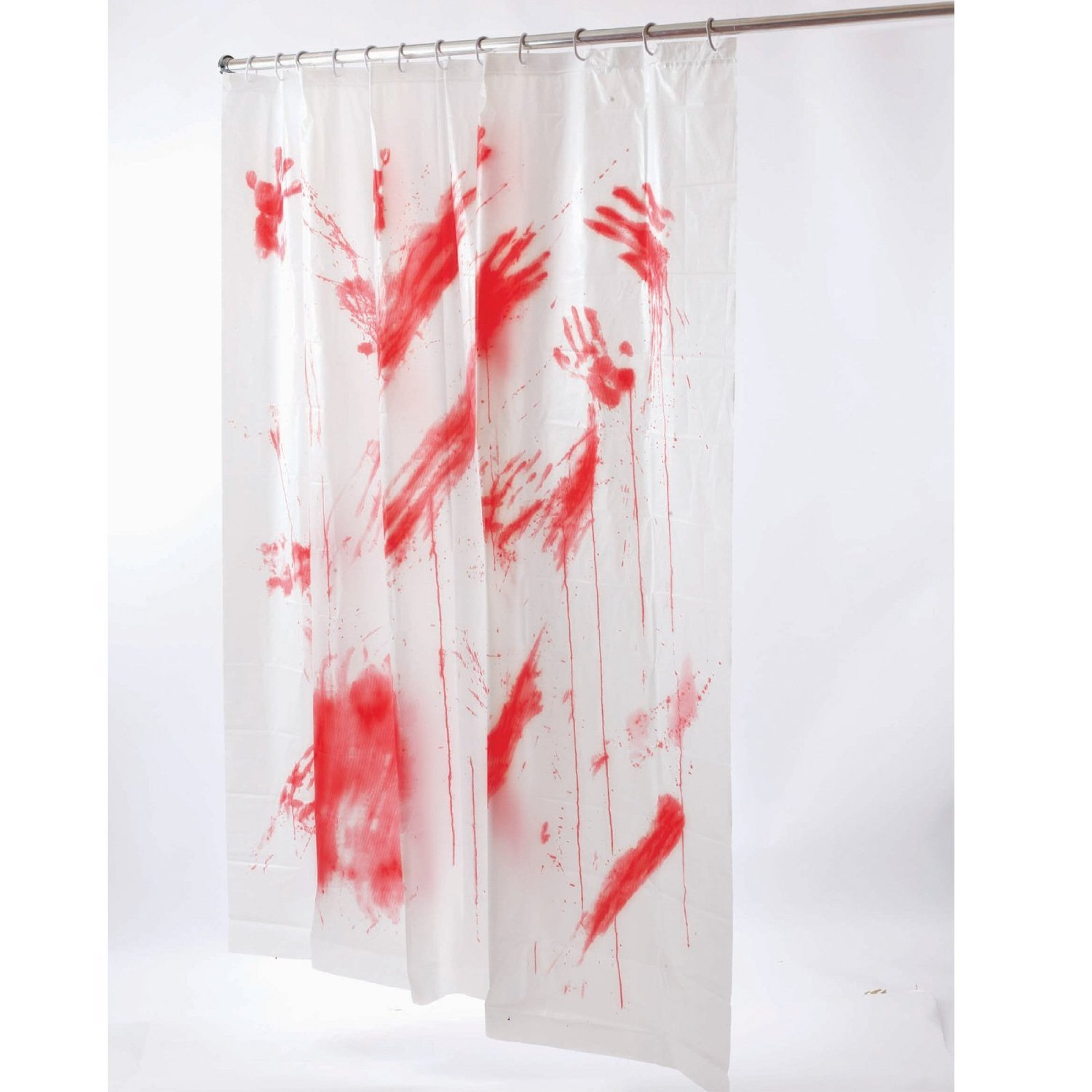 Scary shower curtain - Bloody Shower Curtain