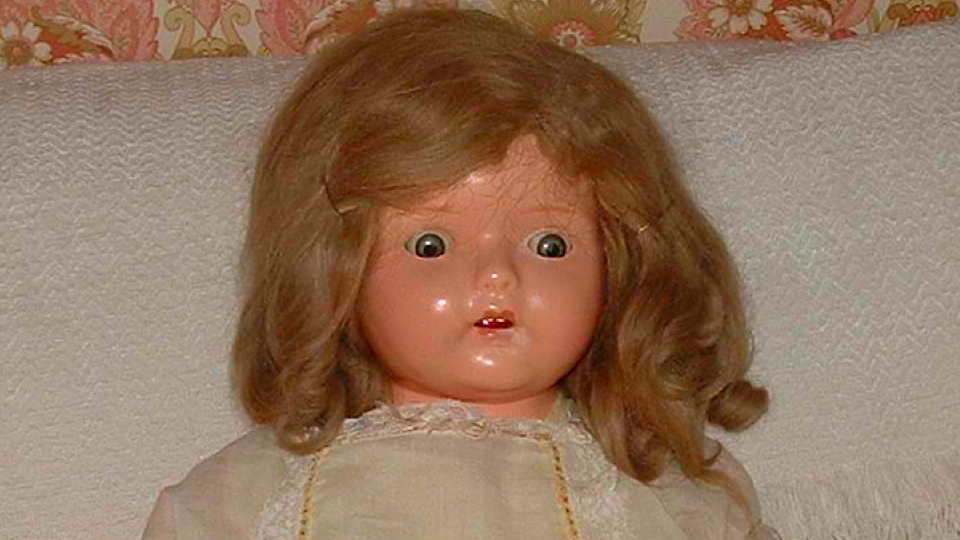 creepy doll