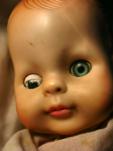 Creepy Japanese Toy : These type of dolls always looked creepy to me anyone