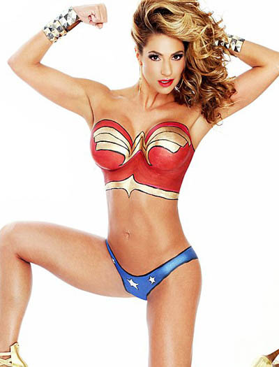 Cool Wonder Woman Body Paint The Scarydad Podcast